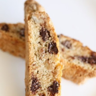 Scrumpdillyicious Chocolate Chip Biscotti...