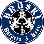 Logo for Bruski Burgers & Brew - Poway