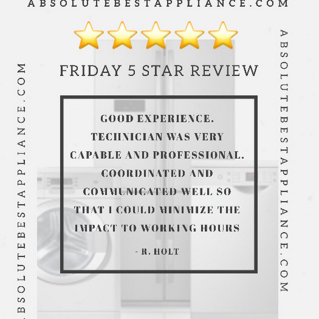 Absolute Best Appliance Appliance Repair Service In
