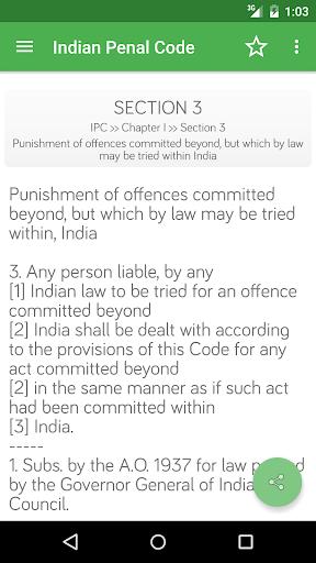 IPC - Indian Penal Code screenshot 4
