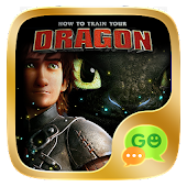 (FREE) GO SMS HOW TO TRAIN YOUR DRAGON THEME