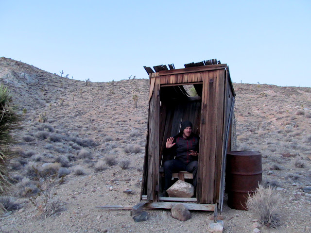 Lost Burro outhouse