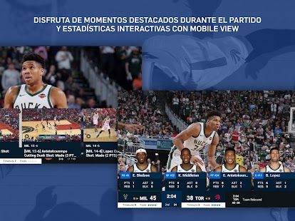 NBA App: básquetbol en vivo Screenshot