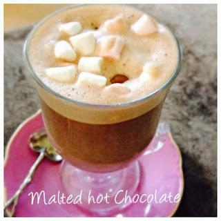 Christmas Tipples (Malteser Hot Chocolate & Spiced Apple)