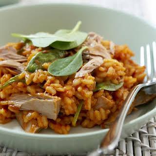 Tuna and Tomato Risotto.