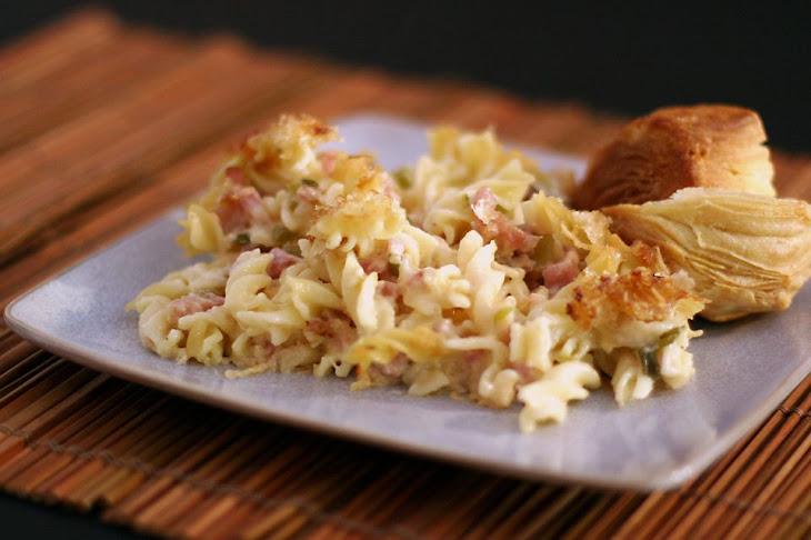 Ham, Swiss, and Pasta Casserole Recipe