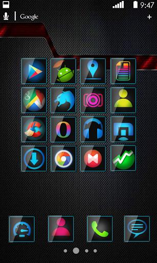 Glastro Icon Pack