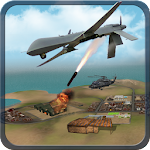 Drone Fighter Strike Simulator Icon