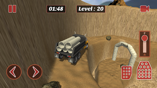 Mountain Truck Parking Sim- screenshot thumbnail
