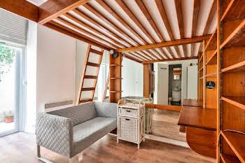 Studio meublé 15,52 m2