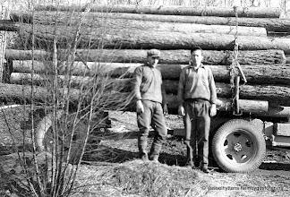 Photo: Lillebo 12-1 1938-40 timmertransport