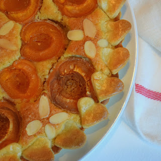 Apricot And Bourbon Tart