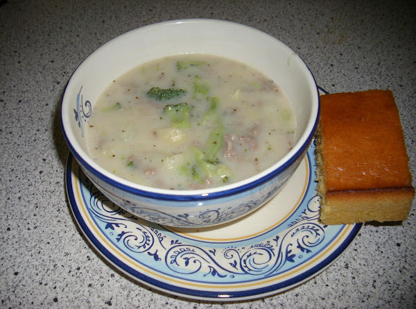 Baked Potato Soup Deluxe Recipe
