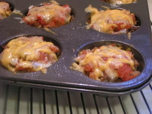 Cheesy Mini Taco Meatloaves