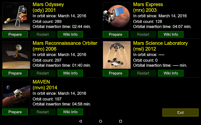 Curiosity: The Mars Mission screenshot