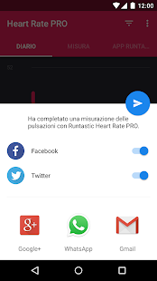 Runtastic Heart Rate PRO- miniatura screenshot