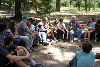 Photo: Chug Retz: Camp Gilboa in the Olden Days - the kids loved learning all about Habonim in Big Bear, Idywilld and even BEFORE Big Bear!!!