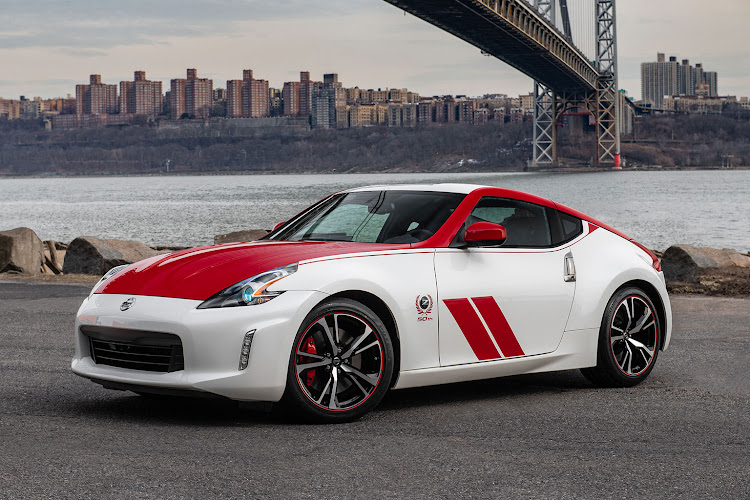 The new Nissan 370Z to mark the brand's 50th anniversary of the model.