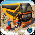 City Coach Bus Driving Simulator Games 2018 icon