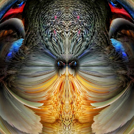 by Ron Meyers - Digital Art Abstract