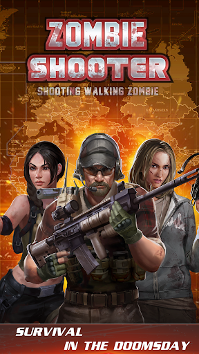 walking zombie shooter: zombie shooting games 1.0.4 screenshots 1