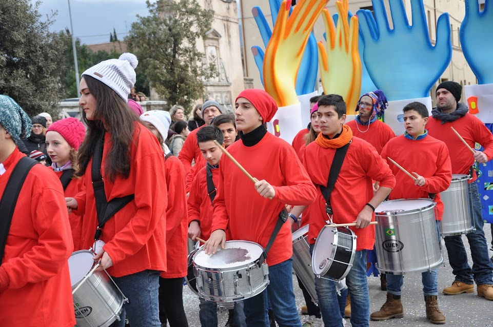 Carnevale di S.Eraclio: Marching Band