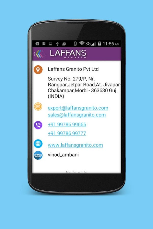 Laffans Granito- screenshot