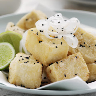 Deep Fried Tofu.