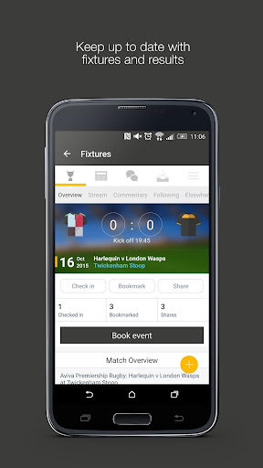 Fan App for Wasps RFC