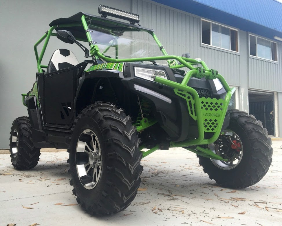 400cc FangPower Watercooled Sports UTV Side By Side Fang Power Offroad Dune Buggy