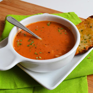 Tomato Soup with Orzo