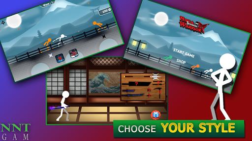 ninja warrior : stickman fight screenshot 1