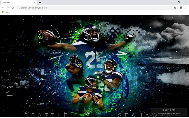 Seattle Seahawks New Tab