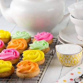 Easy Rose Swirl Cookies.