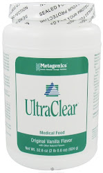 Metagenics UltraClear Medical Food Dietary Supplement - Original Vanilla Flavor, 32.6oz
