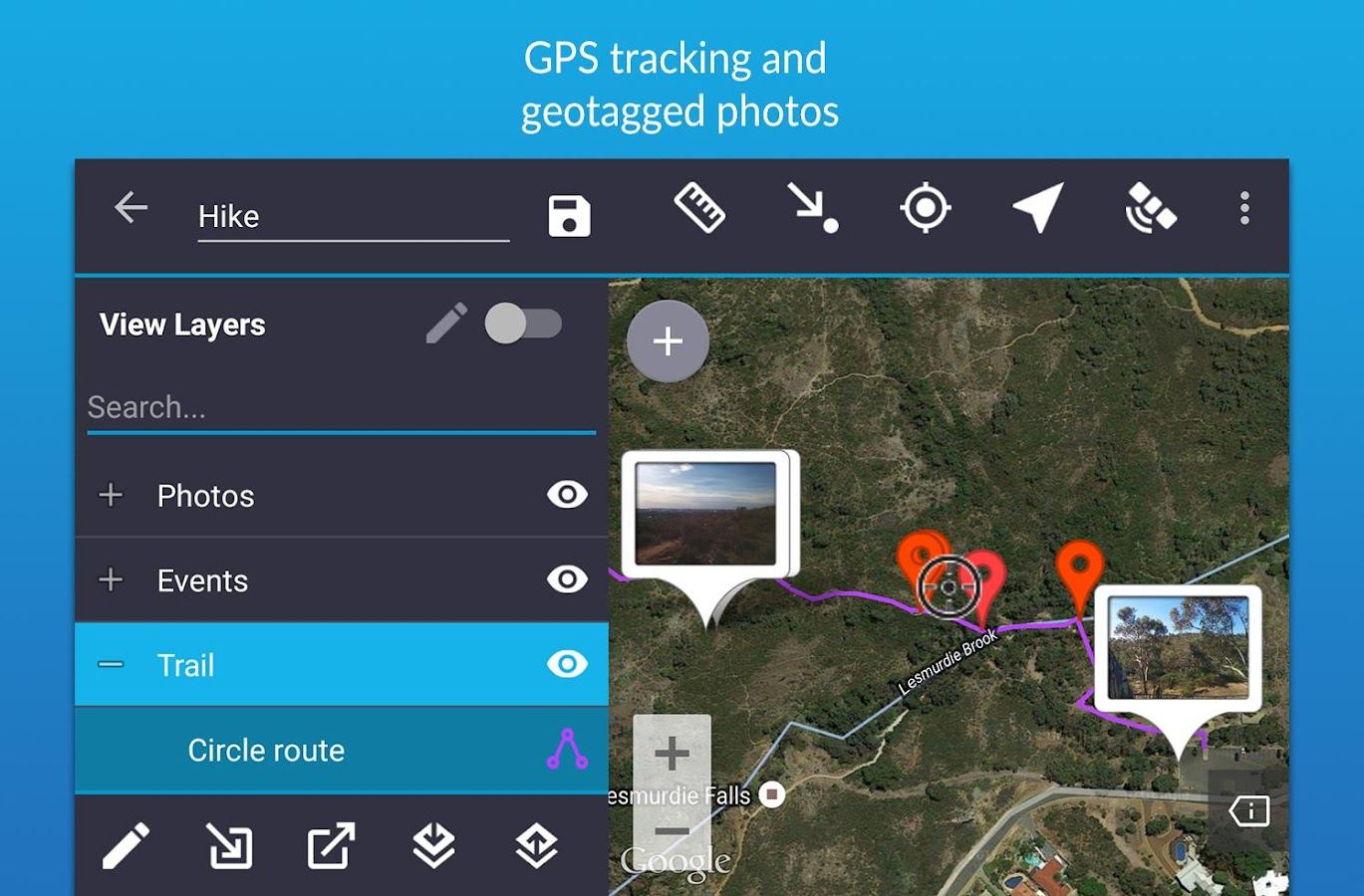 Mappt Lite - Mobile GIS- screenshot