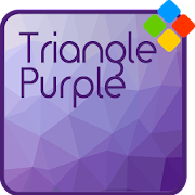 Triangle Purple Theme