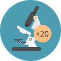 Real Microscópio Piada icon