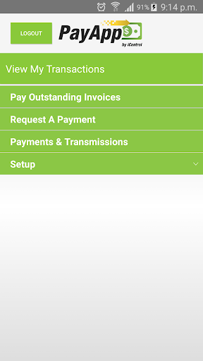 Screenshot for PayAppPro in United States Play Store