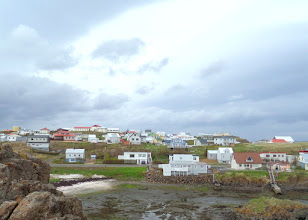 Photo: This is the largest town on the Snaefellsnes Peninsula.  The total populartion of Iceland is 330,000 people.