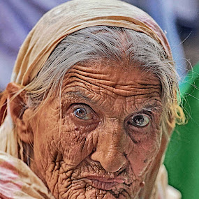 Helplessness.. by Asmar Hussain - People Portraits of Women ( pwcfaces, face, people )