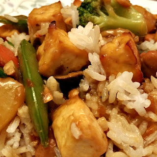 Spicy General Tso Tofu