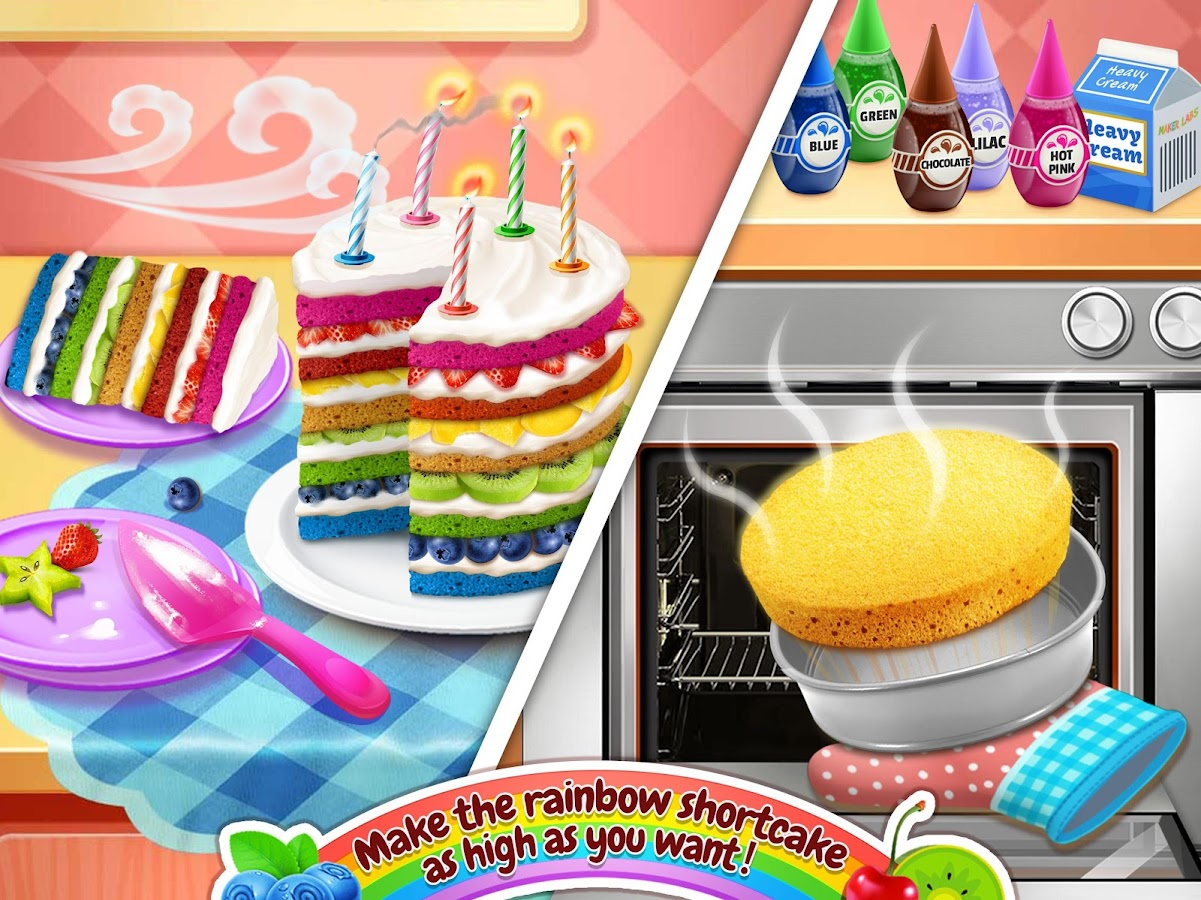 Rainbow Cake Bakery- screenshot