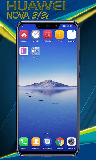 Theme for Huawei Nova 3 - Nova 3i launcher 5.1 screenshots 2