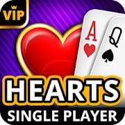 Hearts Offline - Single Player Card Game