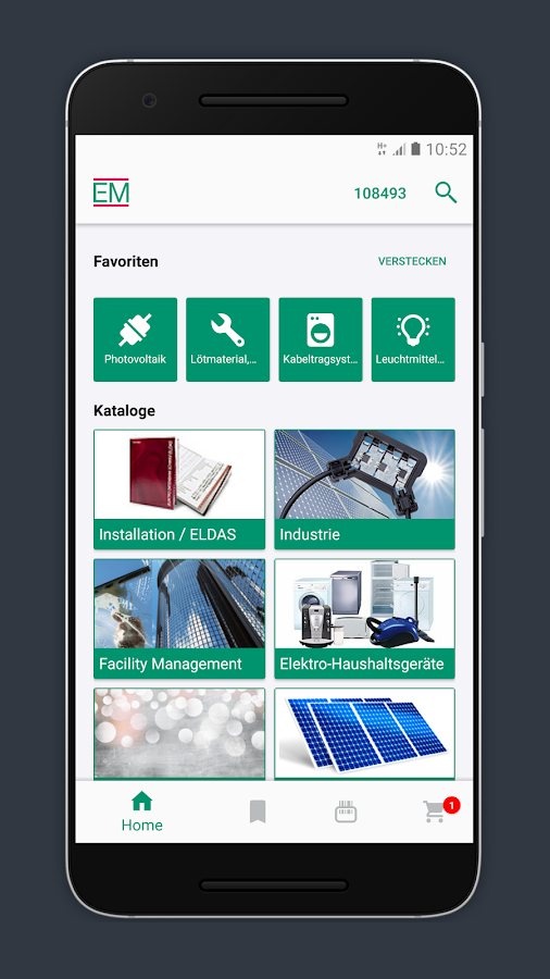 elektro material em app android apps on google play. Black Bedroom Furniture Sets. Home Design Ideas