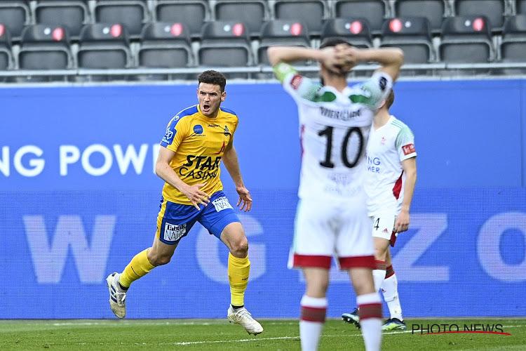 Middenvelder die cruciaal was in de redding van Waasland-Beveren is verkozen tot 'Jupiler Man of the match'