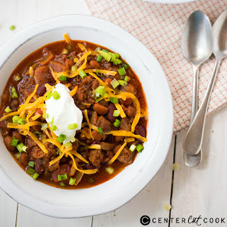Slow Cooker Chili with Beans.