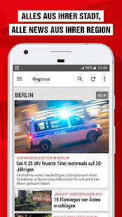 Bild Online Mobile Version
