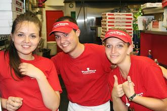 Photo: Marinela, Petar, and Roza